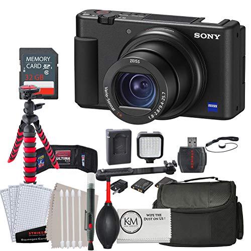 Sony ZV-1 Digital Camera w/ 32GB Memory and Striker Advanced Bundle