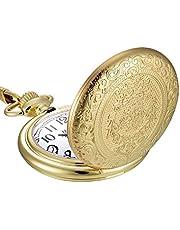 Catena dell'orologio da tasca al quarzo dell'acciaio inossidabile dell'annata