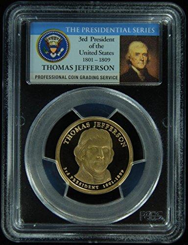 2007 S Jefferson Presidential Dollar PR-69 PCGS