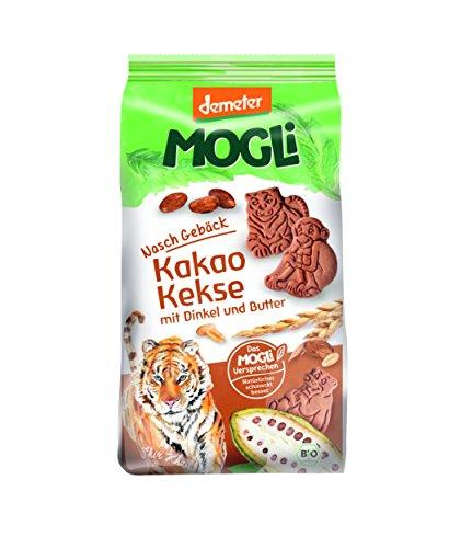 MOGLi Bio Demeter Kakao Dinkel Kekse 7er Pack (7x125g)