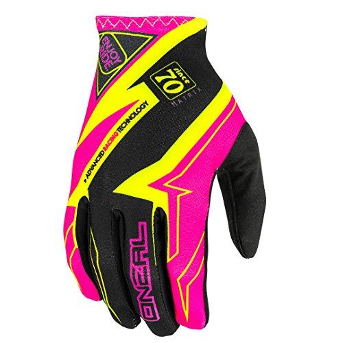 O'NEAL Oneal Matrix Racewear MX-Handschuhe, Farbe Pink, Größe XXL
