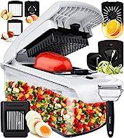 Fullstar Vegetable Chopper Onion Chopper Dicer - Peeler Food Chopper Salad Chopper Vegetable Cutter Vegetable Spiralizer...