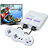 Atopoo Classic Handheld Game Console, HD Classic Game Console Built-in 821 Game in TF Card,and 2 NES Classic Controller HDMI Output Video Games(White)