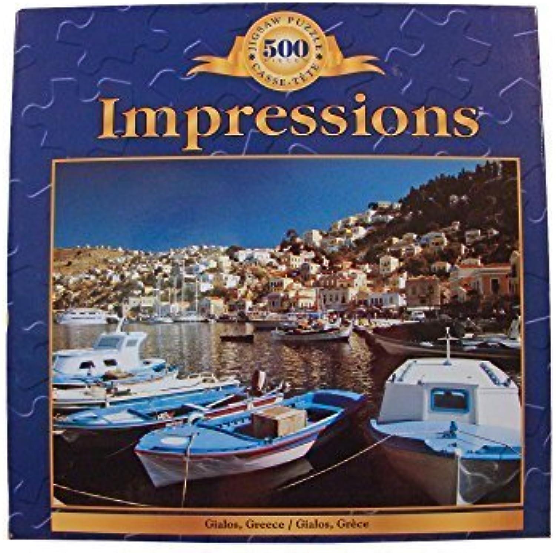 Impressions 500 Piece Jigsaw Puzzle  Gialos, Greece by SureLox