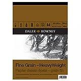 Daler Rowney DR437033400 - Paquete de papel ingres (grano fino, tamaño A4, 30 hojas)