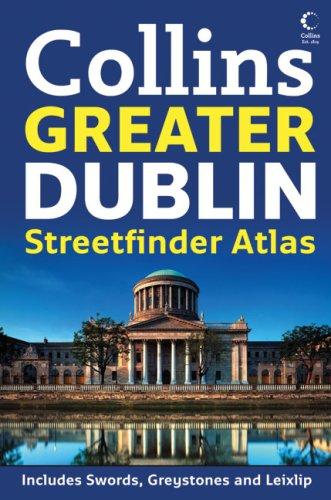 Greater Dublin Handy Streetfinder Atlas [Idioma Inglés]