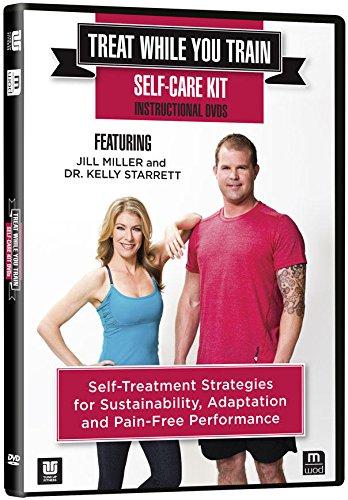 Treat While You Train Self- Care Kit Instructional 2 DVD set Yoga Tune Up
