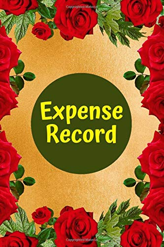 Expense Record: Daily Personal Expenses Workbook Journal: Record your Spending for future Planning and Bookkeeping Purposes