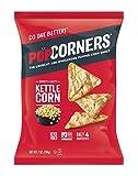 Popcorners Kettle Corn Snack | Gluten Free, Vegan Snack | (12 Pack, 7 oz Snack Bags), Carnival Kunce Pack (ASINPPOTLMCM2950)