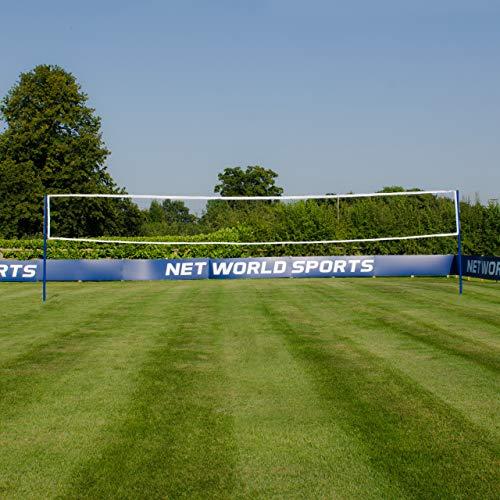 FORZA Volleyballpfosten mit Bodenhülsen – wählen Sie entweder die Pfosten nur oder Pfosten und Netz aus (Pfosten nur)
