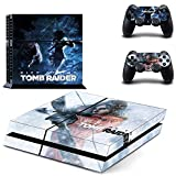 Rise Of The Tomb Raider Ps4 Skin Sticker Decal para Playstation 4...