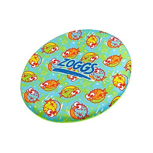 Zoggs Unisex-Frisbee aus leichtem Schaumstoff, 20 cm, Fliegende Scheibe, Pool-Spielzeug, Mehrfarbig