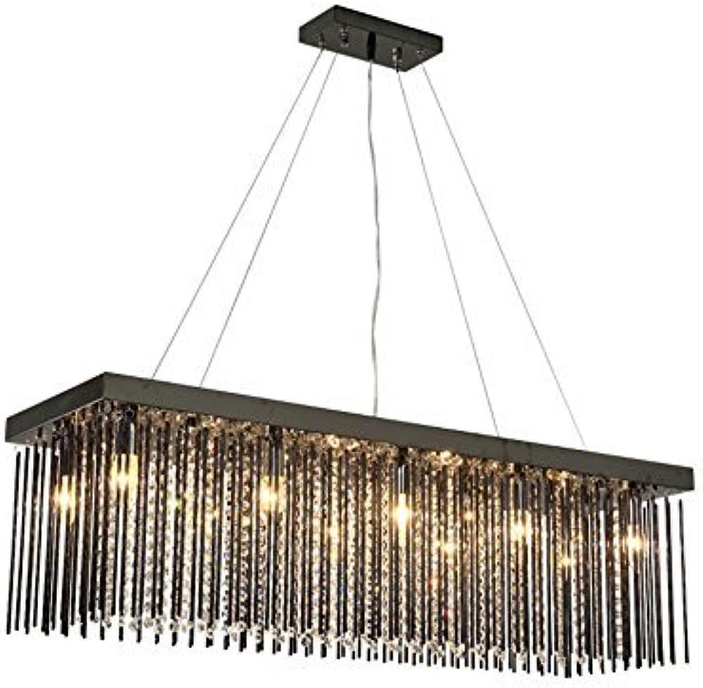 Xajgw lampadario  pendente di cristallo con 10 luci