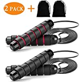 Best Weighted Jump Ropes - Dedtio Jump Rope, Tangle-Free with Ball Bearing Cable Review