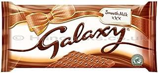 Galaxy Smooth Milk Chocolate 390 G Bar (Pack Of 6)
