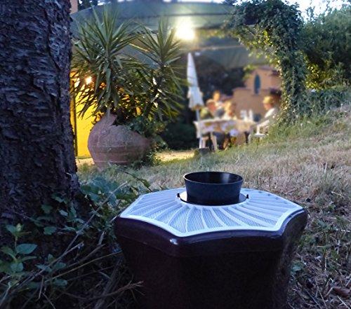 Piège à moustique dans le jardin