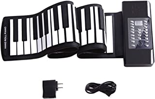 Hand-rolled Piano 61 Key Smart Electronic Piano Keyboard Children's Thicken Piano Pad Portable Musical Instrument (Color :...
