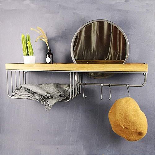 ZHJBD verkoopstandaard voor huishoudtextiel / industriële wind opslag wandbehang slaapkamer kaptafel finishing badkamer rek oude woonaccessoires