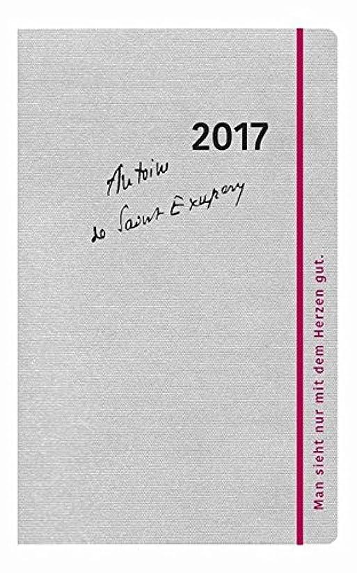 アレルギー規範極めてSaint-Exupéry Taschenkalender 2017: Man sieht nur mit dem Herzen gut
