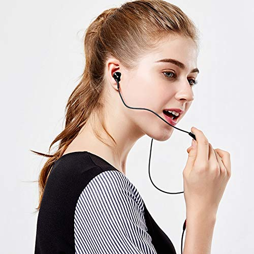 3er-Pack Kopfhörer, In-Ear-Kopfhörer, kabelgebundene Ohrhörer, geräuschisolierendes Headset mit Mikrofon, starker tiefer Bass, für Samsung Huawei MP3-Playern, Tablets und Laptops