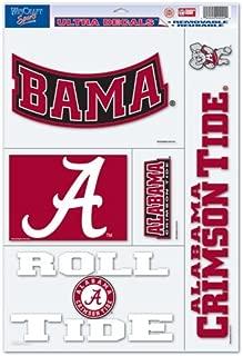 WinCraft NCAA University of Alabama 02911093 Multi Use Decal, 11