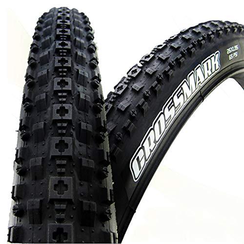 LYQQQQ Neumático Plegable Neumáticos de Bicicleta 26 2.1 27.5 * 1.95 Neumáticos para Bicicletas Neumático Plegable Ultraligero 29 * 2.1 Neumático de Bicicleta de montaña (Size : 26x2.1 Fold)