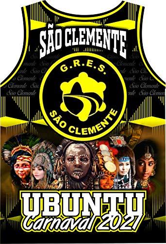 Camiseta Personalizada GRES São Clemente Enredo Carnaval 2021 Ubuntu (P)