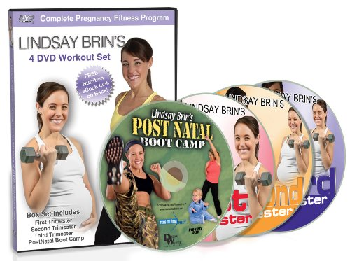 Lindsay Brin's Complete Pregnancy 4-DVD Workout Set: Cardio, Toning PLUS Yoga