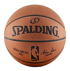 Pro minded: For over three decades, Spalding has joined forces with the NBA to create the gold standard basketball Horween leather: The full-grain leather construction turns butter-soft once broken in Natural grip: Wide channels that provide a great ...