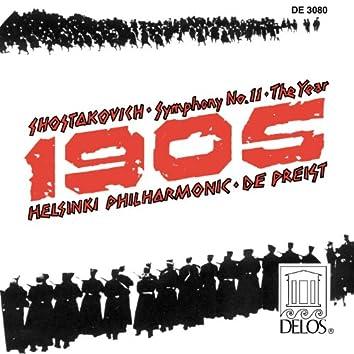 "Shostakovich, D.: Symphony No. 11, ""The Year 1905"""