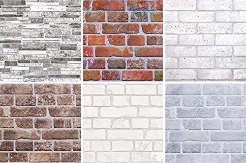 Décoration Panneau Brique Séléction Mur Plaque PVC Stable Regul - Lambris 50319-971 X 489 MM, 50319