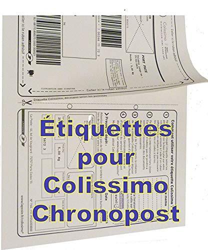 500 feuilles a4 étiquette expedition Colissimo - Chronopost - UPS - adapté pour FBA -expédié par Amazon