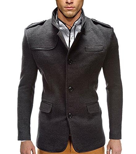 BetterStylz Remon herenjack, vrijetijdswol, business, veganistisch, korte jas, 2 kleuren maten, M-XXL
