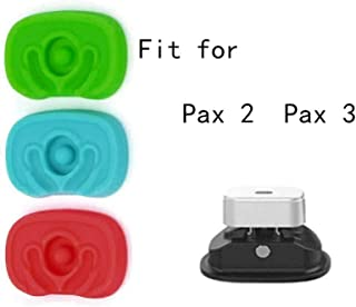 DREAM YOY Flat Mouthpiece 3 Pieces 3 Colors with Rubber Nozzle Protective Cover and