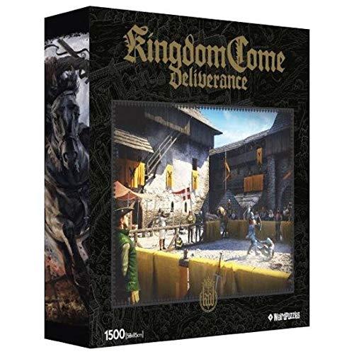 Kingdom Come: Deliverance - Ritterturnier - Puzzle inkl. Poster und Tasche | 1500 Teile