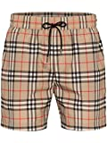 BURBERRY Guildes Vintage Check Drawcord Swim Shorts in Archive...