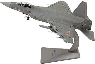 1/48比例军事J31猎鹰鹰隐形战斗机CPLA合金压铸模型,成人玩具和礼物,12英寸X 8.7英寸