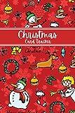 Christmas Card Tracker: Christmas Card Address Book With Tabs, Christmas Card Address Book and Tracker, Christmas Card Address Record Book Gift List With Tabs Alphabetical.Small, V4