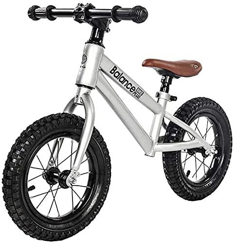 Niños No Pedal Balance Bike 14 Pulgadas Ruedas - Niños Mayores de 3 años de Edad, niños y niñas, la Mejor Bicicleta de cumpleaños Actual