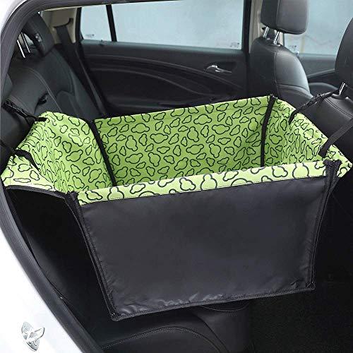 MAILESPET Protector de tapicería para Perros Universal Alfombra de Asiento Coche Mascota Cajones para Coche para Perros Verde