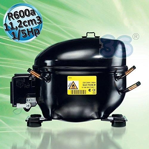 Verdichter Kältekompressor ACC HMK12AA LBP R600a 220-240V/1/50 Hz KÜHLANLAGE