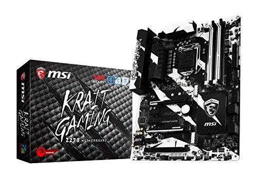 MSI Performance Gaming Intel Z270 DDR4 HDMI USB 3 Mini-ITX Placa Base, Juego, (Z270 Krait Gaming), ATX