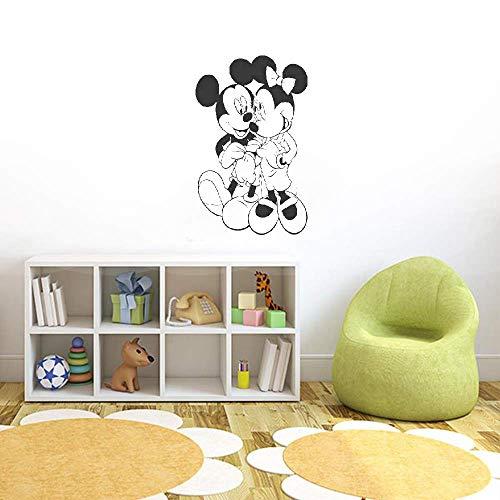 Décoration murale Mickey Minnie Mouse Mickey Mouse et Minnie Mouse enfants bébé pour chambre d'enfants accessoires de chambre décoration de la maison