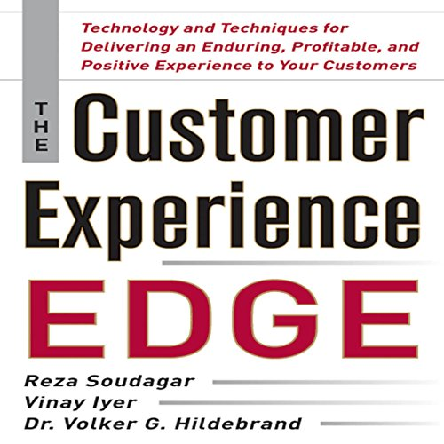 The Customer Experience Edge audiobook cover art
