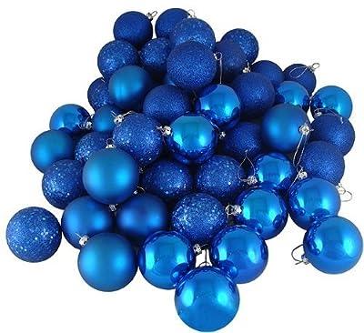 Wish Dayz Christmas Ornaments Ball,20pcs Mini Shatterproof Satin Shiny and Glitter Finish Bulb