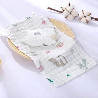 Print Yoga Mat Towel Set, 2 Cotton Towels, Children'S Towels Kindergarten Towel Baby Water Towel Soft Absorbent Water Ball...