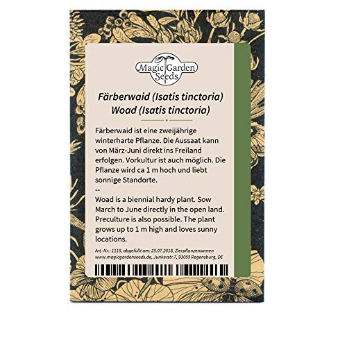 Färberwaid (Isatis tinctoria) 100 Samen