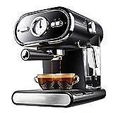 cafetera Las máquinas espresso 20 bar Máquina de café con leche vaporizador varita for Espresso, Cappuccino, Latte y Mocha, una función de Tanque de agua extraíble y sistema de control automático de t