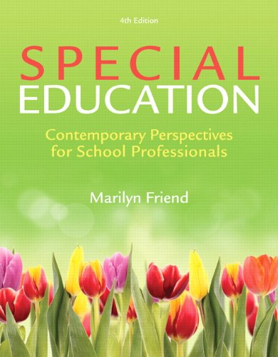 Special Education: Contemporary Perspectives for School Professionals, Video-Enhanced Pearson eText -- Access Card (4th