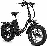 SAWOO Bicicleta Electrica Plegable De 20 Pulgadas para Bicicleta Eléctrica Fat Bike, Bicicleta Electrica De 1000w 48v 18ah,Bicicleta Electrica De Montaña, Bicicleta Electrica Fat Bike (No Plegable)